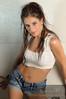 Sophie Milord (SophieMilord) Tags: ca canada montréal style québec vêtements fonds physique cheveuxbruns yeuxbleux shortjeans vtements posesexy montržal qužbec yeuxclairs
