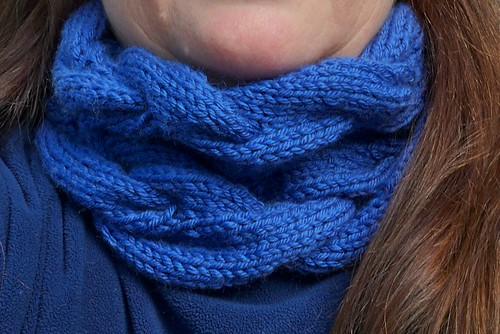 A Very Braidy Cowl - Finished