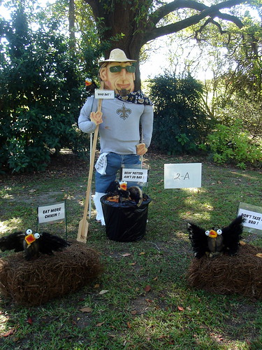 Who Dat Scarecrow