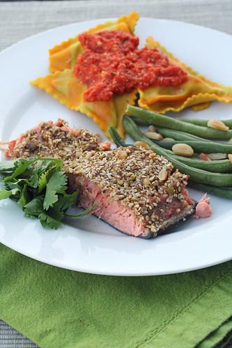 Dukkah-Crusted Salmon