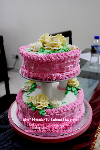 Batch 24 Sept: Tier Buttercream Wedding Cake