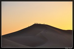 Sunset at the dunes (Sammy Naas) Tags: festival libya ghadames    tuareq ghadamis  teniri  tuwareq