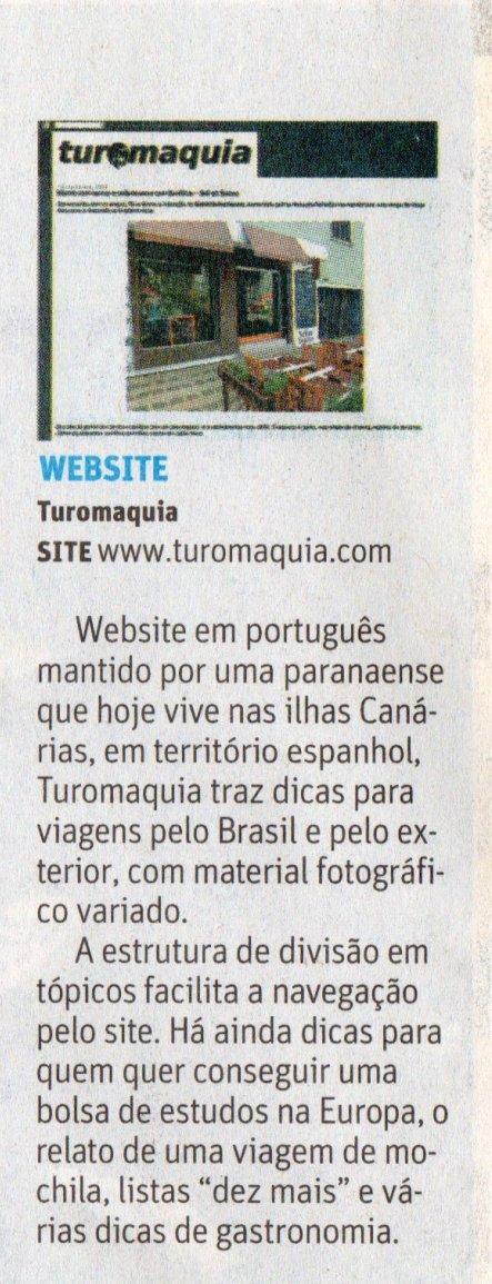 Folha de São Paulo - Detalhe