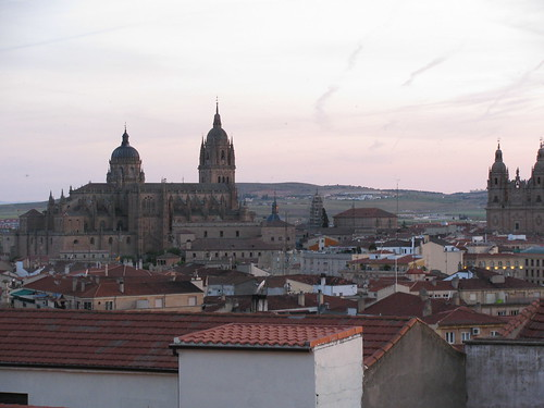 Across the Rooftops of Salamanca Spain
