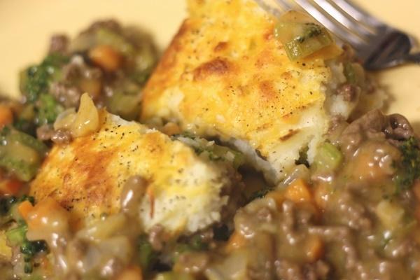 Shepherd's Pie - plate