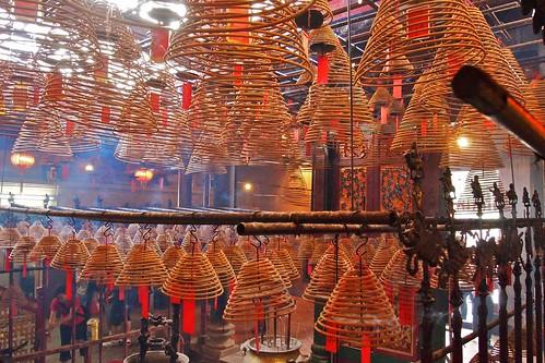 Hong Kong attrazioni - man mo tempio