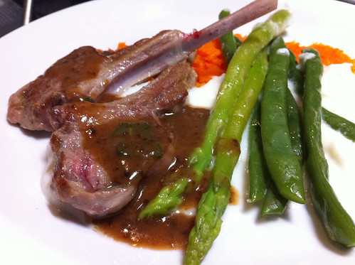 Lamb Chops with Sage Gravy