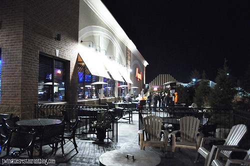 Patio Area at Maynards ~ Rogers, MN