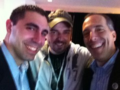 .@justinlevy, @unmarketing and @stevegarfield at #ims10