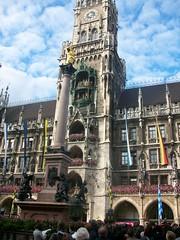 0022 - Munich - Marienplatz Glockenspiel