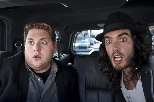 Russel Brand & Jonah Hill in Get Him to the Greek