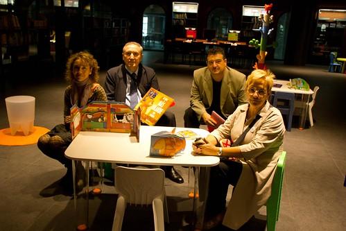 Inauguración de la Mediateka de Alhóndiga Bilbao