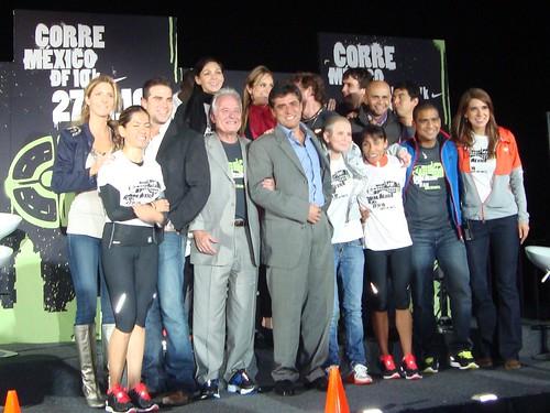 Presentación Carrera Nike Corre México