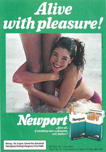Sex and newport pleasure together