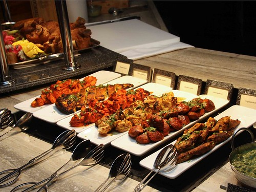 Selection of Indian Tandoori and Kebabs