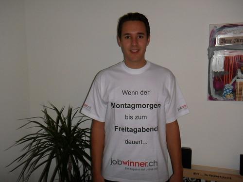 jobwinner.ch T-Shirt