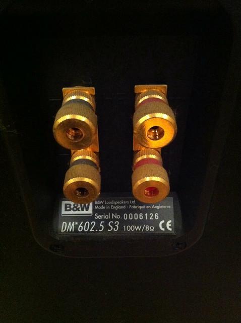 B&W DM602.5 S3 Floorstanding Speakers (SOLD) 5071348016_40e0e34d0c_z
