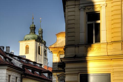 Old town detail. Prague. Detalle de la ciudad vieja. Praga