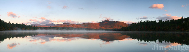 Pano of Chocorua Sunrise...