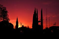 """Atardece en el Campo de la Gloria (2)"" (Marcelo Savoini) Tags: sunset argentina 35mm atardecer nikon san lorenzo d90 18g campodelagloria"