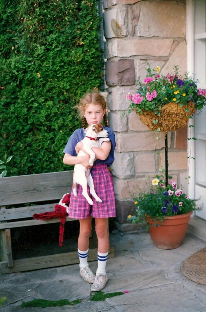 kate holding gyp '93