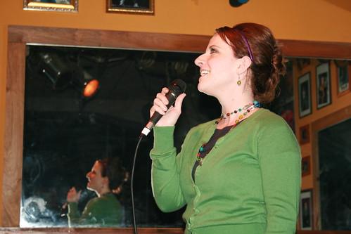 casey karaoke blissdom 2009