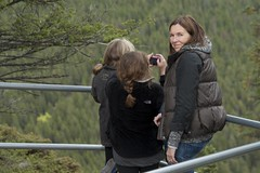 Banff10069.jpg (Keith Levit) Tags: canada marina rachel hike linda alberta banff banffnationalpark tunnelmountaintrail keithlevitphotography