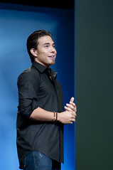 Apolo Anton Ohno, JavaOne Keynote, JavaOne + Develop 2010, Moscone North