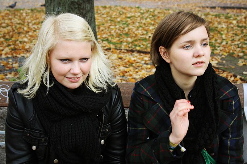 Anna och Mari