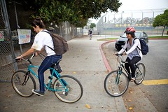 Bike It Day - 10-13-10 - Samohi