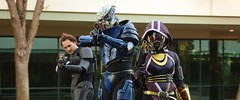The ME2 Squad (ammnra) Tags: costume tali cosplay shepard masseffect garrus