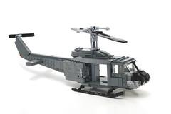 Upgrade (?) (psiaki) Tags: army war lego vietnam huey iroquois moc uh1 hellicopter creationsforcharity2010 hueytest