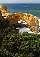 Coastal Archway, Great Ocean Road (stvjackson) Tags: ocean landscape coast nikon scenery indianocean australia victoria coastline greatoceanroad southernocean rockformation d90 nikon2470mmf28