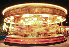 The Galloping Horses (shutterbugbob) Tags: longexposure night merrygoround funfair hullfair gallopinghorses