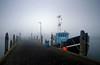 "early (D.Reichardt) Tags: morning fog denmark harbor europe ship filter cokin havneby römö ""flickraward"""