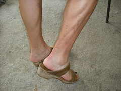 Sandal clogs (2moshoes) Tags: brown men shoe arch sandals nail platform heels clog manglaze
