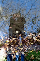 Clint and Alison Fall shoot... (brycetyrrell) Tags: fall reflections engagement 7d 85mmf18