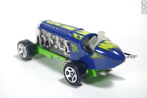 Mattel Hot Wheels - Torpedo Jones (2010 Scary Cars 5-pack, Target excl., 9/10)