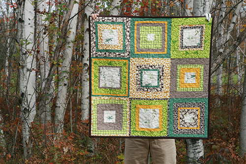 French Botanicals Quilt