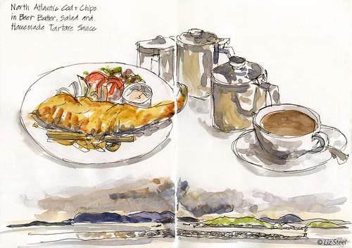 0818W_03 Leverburgh Lunch