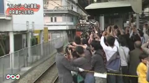 """中央線""""オレンジ車両""""が引退"""