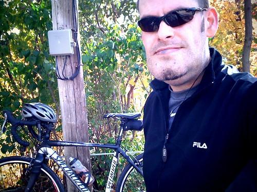 Me, bike