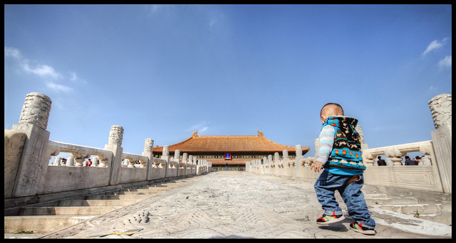 kid in the forbidden city