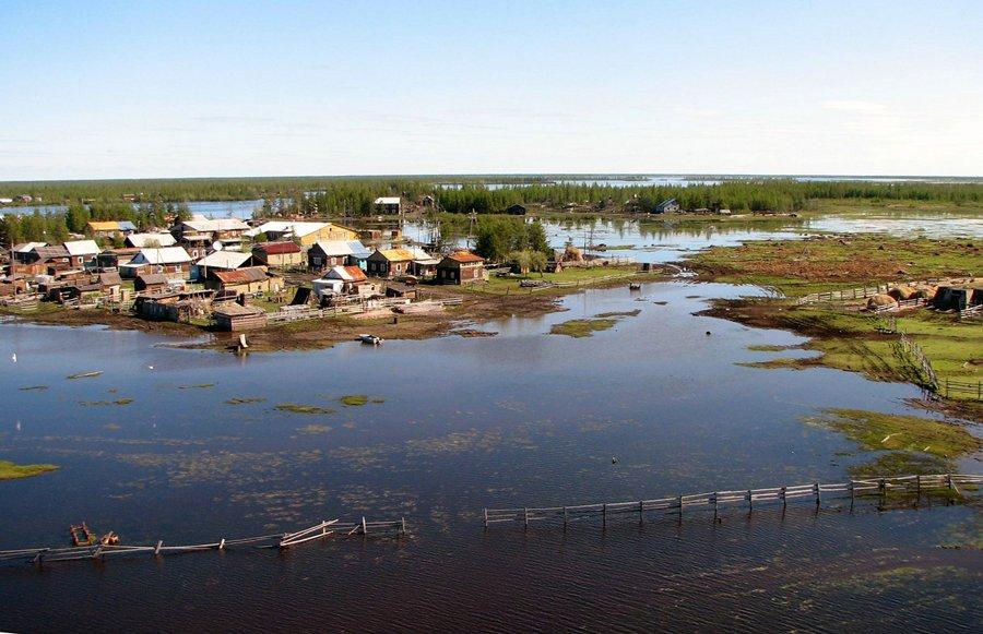 Село андрюшкино и его обитатели