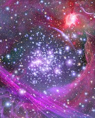 Arches Cluster (NASA, Hubble, 03/09/05) (NASA's Marshall Space Flight Center) Tags: star cluster arches nasa breastcancer thinkpink milkyway hubblespacetelescope