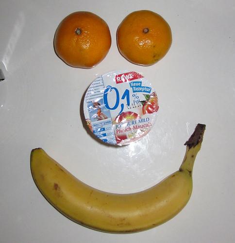 Joghurt, Mandarinen & Banane