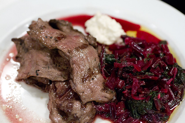 Ox Heart, Beetroot leaves and Horseradish