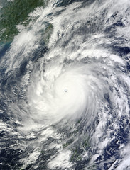 NASA´s Terra Satellite Catches Powerful Supertyphoon Megi
