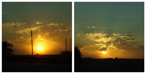 Sunset oct. 16 2010