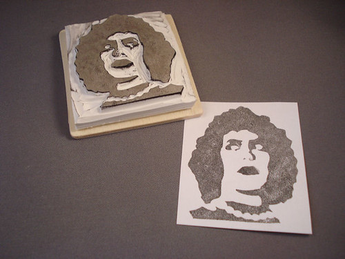 Dr. Frank n Furter rubber stamp